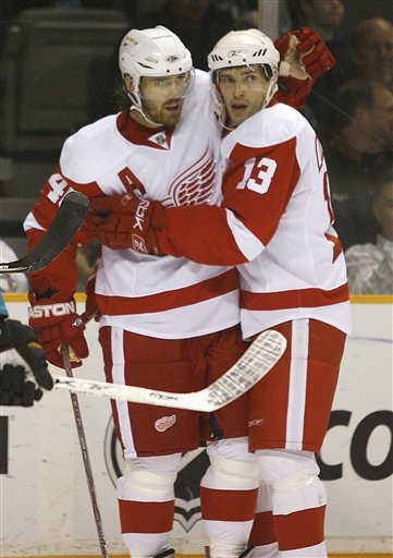 Red Wings Sharks Hockey