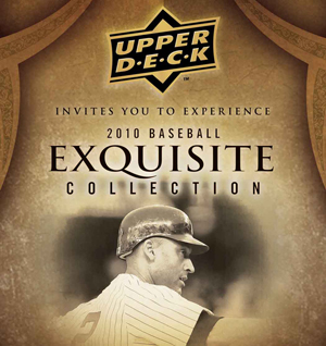 Announcement for the 2010 Exquisite Baseball cards