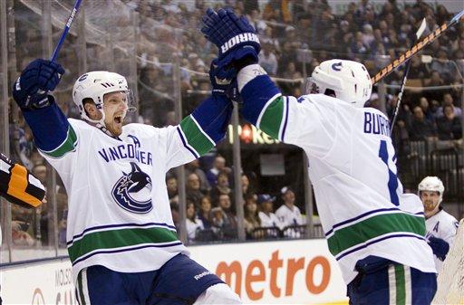 Canucks Maple Leafs Hockey