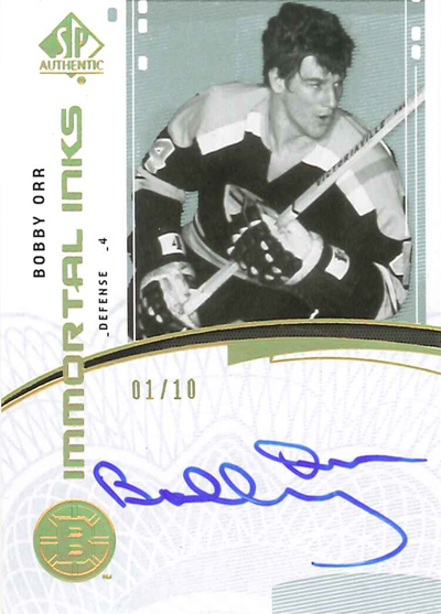 0910 SPA Immortal Inks - Bobby Orr