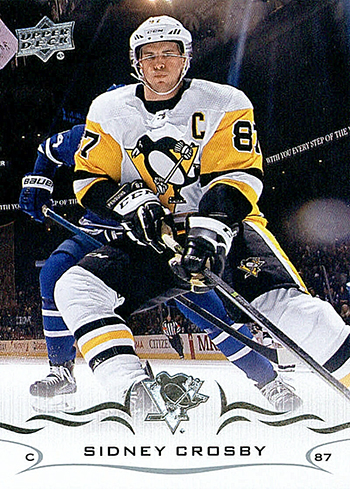 upper deck sidney crosby card