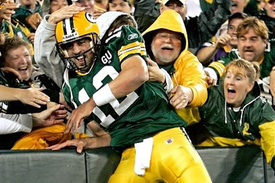 Aaron Rodgers Green Bay Packers Quarterback