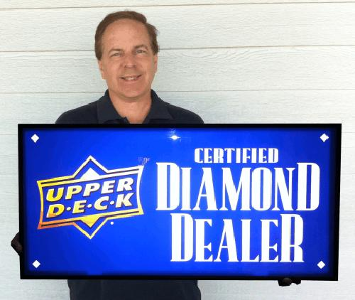 Magazine-Exchange-Roger-Barry-Free-Certified-Diamond-Dealer-Sign-Upper-Deck-Promotion