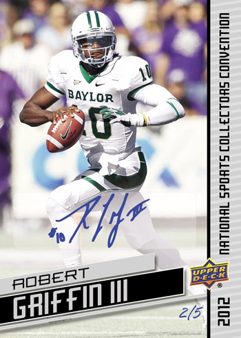 Robert Griffin III Autograph National