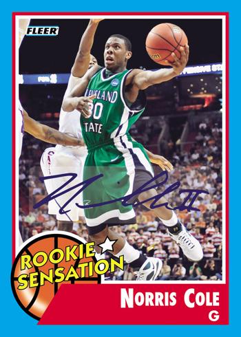 Miami Heat Norris Cole Rookie Card