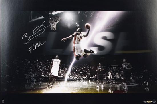 Miami Heat Dwyane Wade Flash