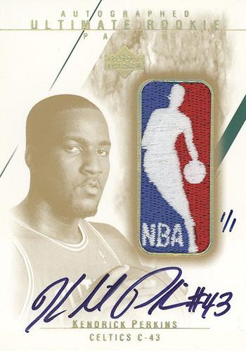 Kendrick Perkins Logoman Card