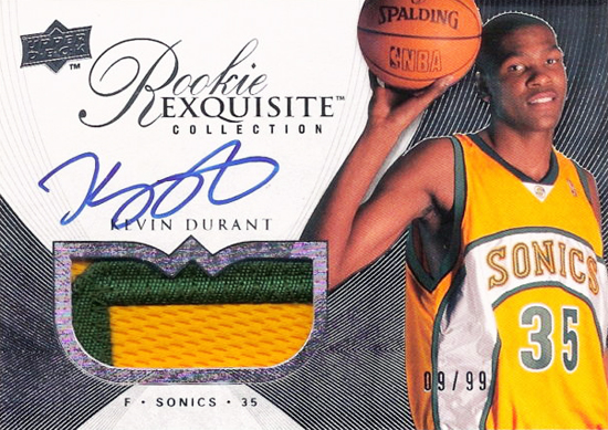 Kevin Durant Most Expensive Rookie Card