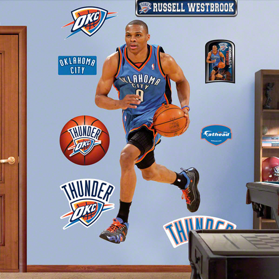 Russell Westbrook Fathead