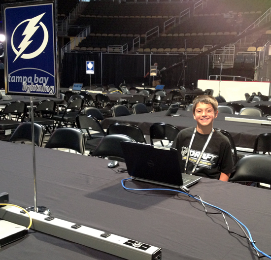 Tampa Bay Lightning Table