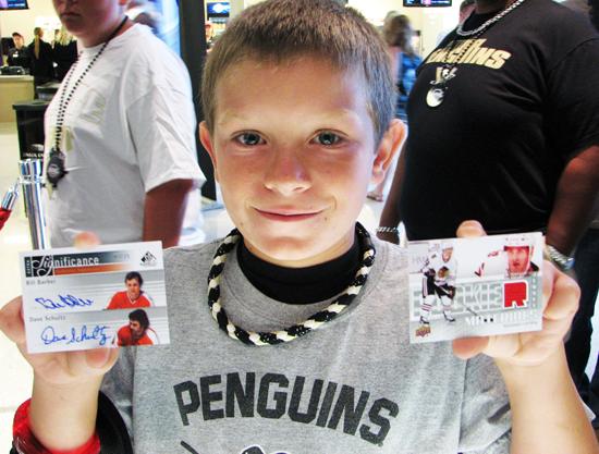 UD Draft Kid autograph card