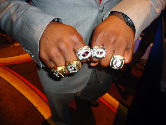 ESPN ESPY Awards Trent Richardson Rings
