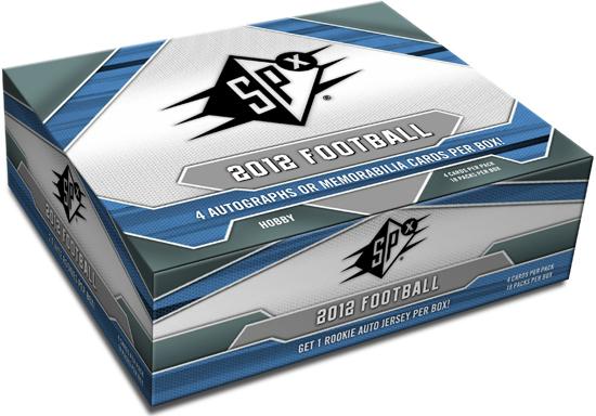 2012 SPx Football Box