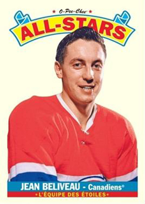 2012-13 NHL O-Pee-Chee All-Stars Beliveau