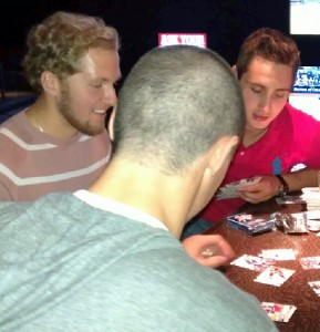 Rookie Hockey Card Poker