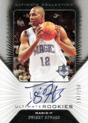Dwight Howard Ultimate Collection Autograph Rookie