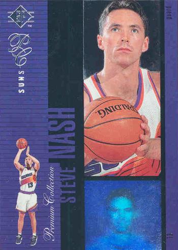 SP Authentic Steve Nash Holoview Rookie