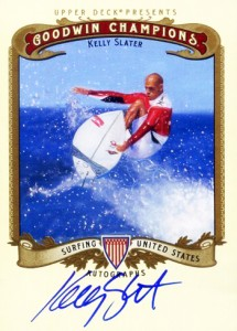 2012 Goodwin Champions Kelly Slater Autograph