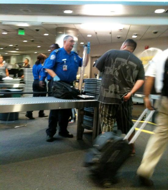 TSA Collector Autograph Bat Security