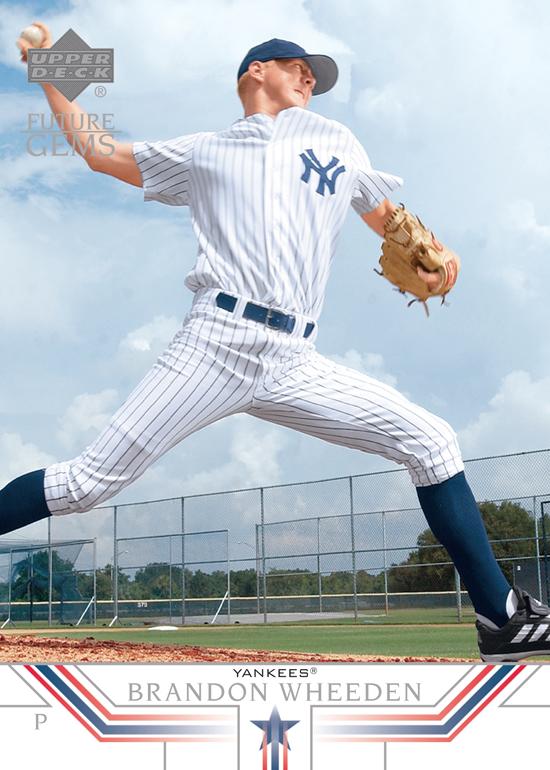 2002 Upper Deck Baseball Prospect Premieres Brandon Weeden