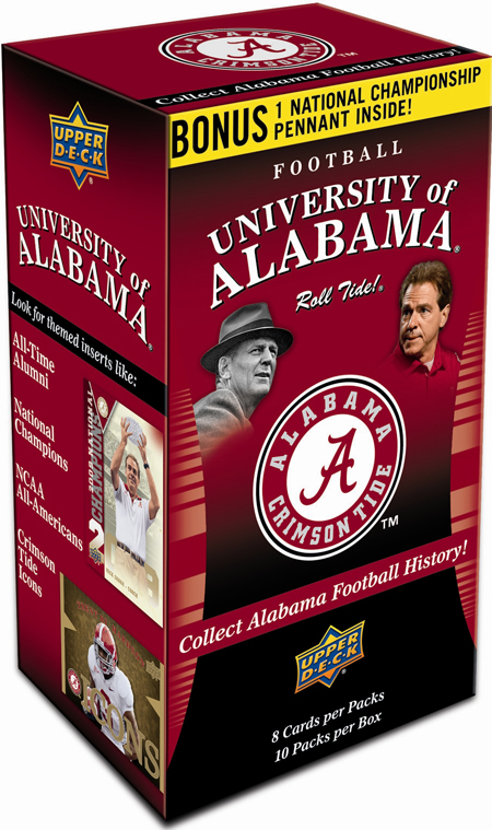 2012-Upper-Deck-Alabama-Football-Blaster-Retail-Box