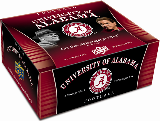 2012-Upper-Deck-Alabama-Football-Hobby-Box