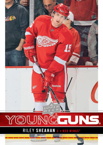 2012-13-NHL-Upper-Deck-Series-One-Young-Guns-Rookie-Riley-Sheahan