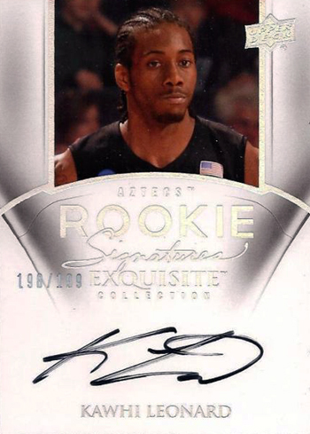 2012-Collectors-Choice-Awards-Autograph-Card-Year-Exquisite-Autograph-Kawhi-Leonard