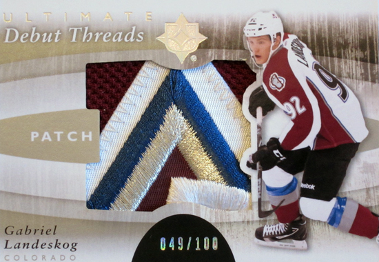 2012-Collectors-Choice-Awards-Memorabilia-Card-Year-Ultimate-NHL-Debut-Threads