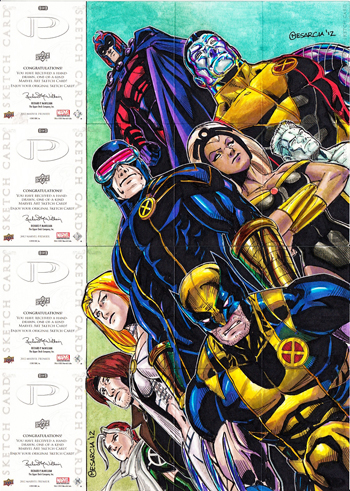 2012-Marvel-Premier-Multi-Panel-Hinge-Card-Puzzle-X-Men-Back-Cyrus-Messercia