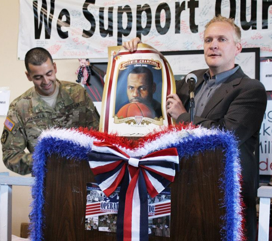Operation-Gratitude-Donation-Drive-Holiday-Troops-Care-Packages-Upper-Deck-LeBron-James-Poster-Presentation