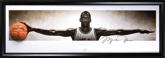 Upper-Deck-Authenticated-Slam-Dunk-Gift-Guide-Michael-Jordan-Autograph-Wings-Breaking-Through