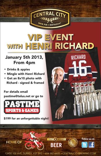 Upper-Deck-Featured-Retailer-Pastime-Sports-Games-British-Columbia-Henri-Richard-Event