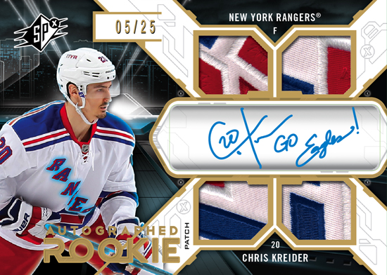 2012-13-NHL-SPx-Rookie-Autograph-Jersey-Patch-card-Chris-Kreider