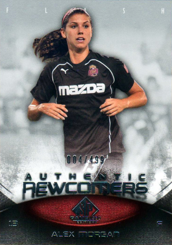 2012-Collectors-Choice-Awards-Unsigned-Rookie-SP-Game-Used-Soccer-Alex-Morgan