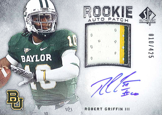 2012-SP-Authentic-Football-Rookie-Autograph-Patch-Robert-Griffin-III-RG3-10