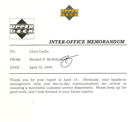 Richard-McWilliam-Signature-Internal-Inter-Office-Memo