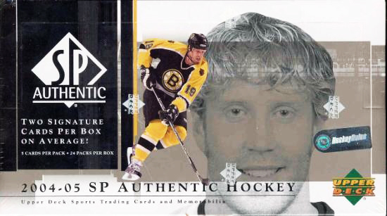 2004-05-NHL-SP-Authentic-Box-Upper-Deck