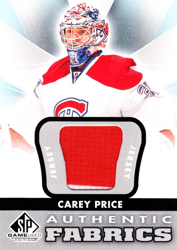 Girls-Go-Gaga-for-Goalies-Carey-Price-Cute-SP-Game-Used