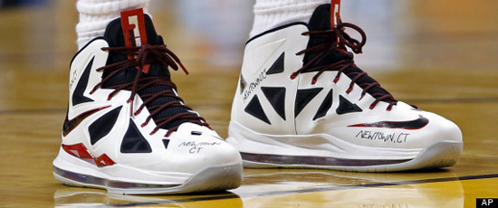 LeBron-James-Newtown-CT-Shoes