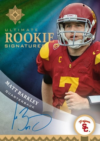Upper-Deck-Football-Matt-Barkley-Hard-Signed-Ultimate-Collection