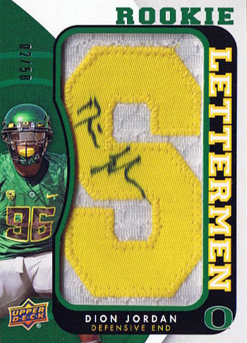 2013-Upper-Deck-Football-Autograph-Rookie-Letterman-Dion-Jordan