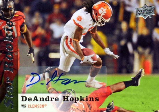 2013-Upper-Deck-Football-Autograph-Star-Rookie-DeAndre-Hopkins