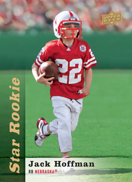 upper deck jack hoffman star rookie card