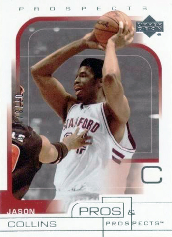 First-Gay-Athlete-Jason-Collins-2001-02-Pros-Prospects-Jason-Collins-Rookie-Card