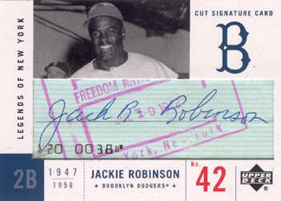 Jackie-Robinson-Collect-2001-Upper-Deck-Legends-of-NY-Cut-Signature-Card