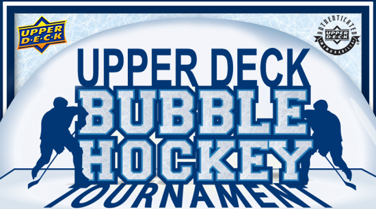 Upper-Deck-Spring-Expo-Bubble-Hockey-Tournament-Sign