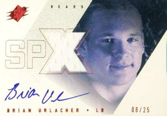 2000-SPx-Rookie-Autograph-Jersey-Card-Brian-Urlacher