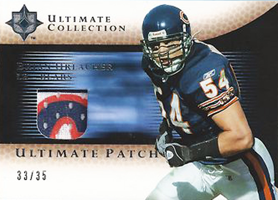 2005-Upper-Deck-Ultimate-Collection-Brian-Urlacher-Patch-Card