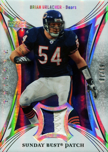 2007-Upper-Deck-Trilogy-Sunday-Jersey-Patch-Brian-Urlacher